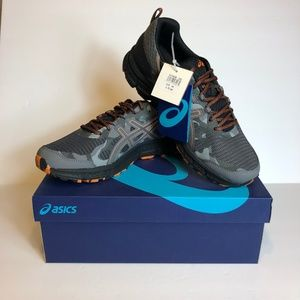 Asics Gel Scram 4 Camo Grey Trail Running Sneakers